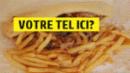 Barquette kebab frites