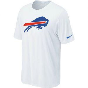 Nike Buffalo Bills Sideline Legend Authentic Logo Dri-FIT NFL T-Shirt - White