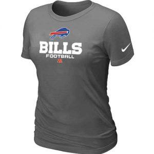 Nike Buffalo Bills Women's Critical Victory NFL T-Shirt - Dark Grey