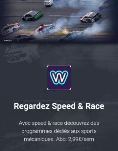 Avis, review, Speed and Race channel, tv, media